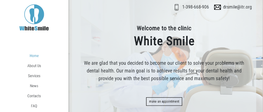 Whitesmile Tema WordPress