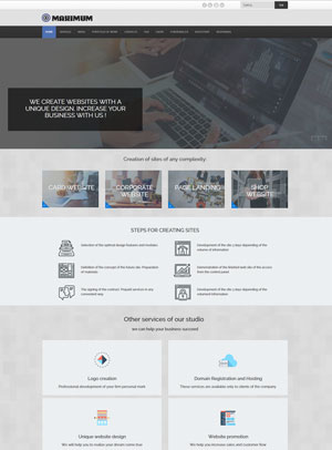 Template Joomla Maximum
