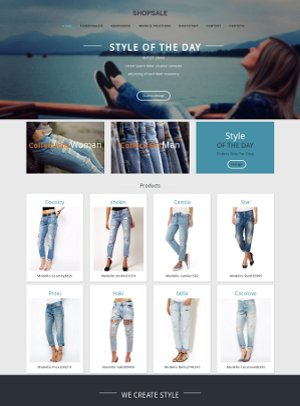 Template Joomla Shopsale