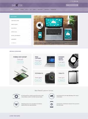 Shopstore Joomla Template